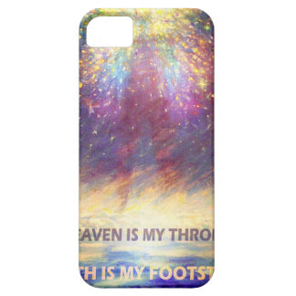 HEAVEN IS MY THRONE - EARTH IS MY FOOTSTOOL iPhone SE/5/5s CASE