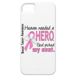 Heaven Needed A Hero Aunt Breast Cancer iPhone SE/5/5s Case