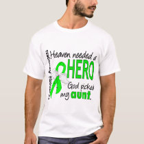 Heaven Needed a Hero Aunt Lymphoma T-Shirt
