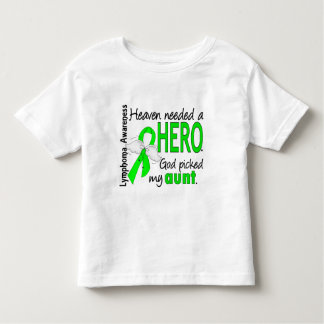Heaven Needed a Hero Aunt Lymphoma Toddler T-shirt