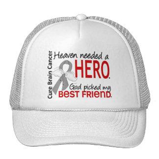 Heaven Needed a Hero Brain Cancer Best Friend Hats