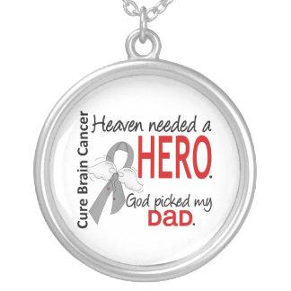 Heaven Needed a Hero Brain Cancer Dad Necklaces
