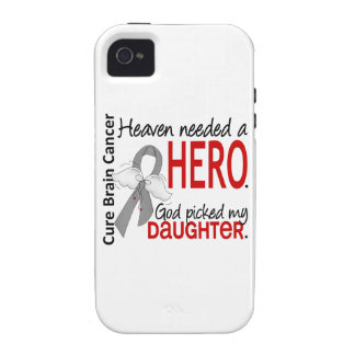 Heaven Needed a Hero Brain Cancer Daughter iPhone 4/4S Cover
