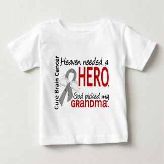 Heaven Needed a Hero Brain Cancer Grandma Baby T-Shirt