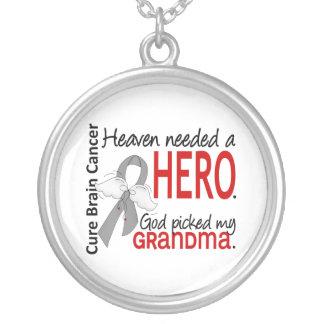 Heaven Needed a Hero Brain Cancer Grandma Jewelry