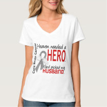 Heaven Needed a Hero Brain Cancer Husband T-Shirt
