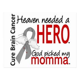 Heaven Needed a Hero Brain Cancer Momma Postcard