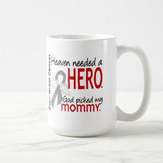 Heaven Needed a Hero Brain Cancer Mommy Classic White Coffee Mug
