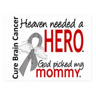 Heaven Needed a Hero Brain Cancer Mommy Postcard