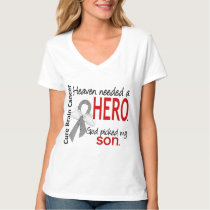 Heaven Needed a Hero Brain Cancer Son T-Shirt