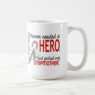 Heaven Needed a Hero Brain Cancer Stepmother Classic White Coffee Mug