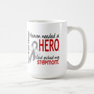 Heaven Needed a Hero Breast Cancer Stepmom Classic White Coffee Mug
