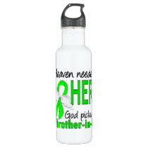 Heaven Needed a Hero Brother-In-Law Lymphoma Stainless Steel Water Bottle