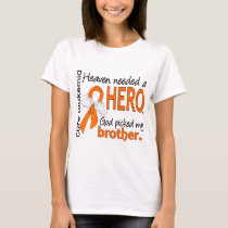 Heaven Needed a Hero Brother Leukemia T-Shirt