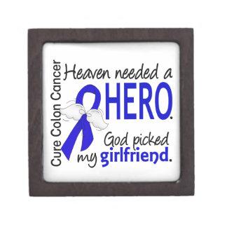 Heaven Needed a Hero Colon Cancer Girlfriend Premium Gift Box