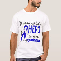 Heaven Needed a Hero Colon Cancer Grandma T-Shirt