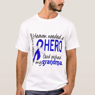 Heaven Needed a Hero Colon Cancer Grandma T-Shirt
