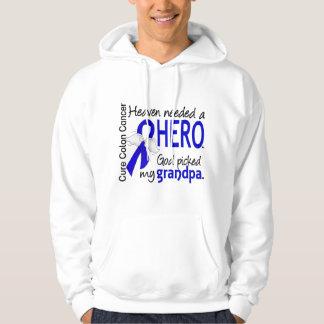 Heaven Needed a Hero Colon Cancer Grandpa Hoody