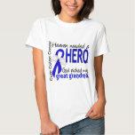 Heaven Needed a Hero Colon Cancer Great Grandma T-shirt