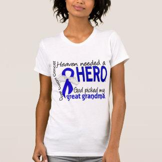 Heaven Needed a Hero Colon Cancer Great Grandma Tees