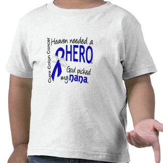 Heaven Needed a Hero Colon Cancer Nana T-shirt