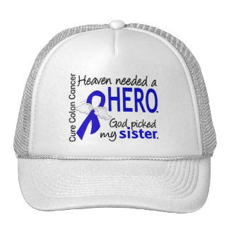 Heaven Needed a Hero Colon Cancer Sister Hats