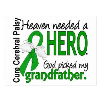 Heaven Needed a Hero CP Grandfather Postcard