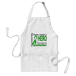 Heaven Needed a Hero CP Grandmother Apron