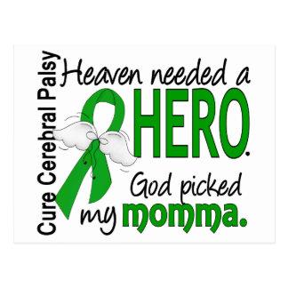 Heaven Needed a Hero CP Momma Postcard