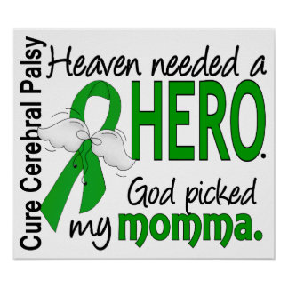 Heaven Needed a Hero CP Momma Poster