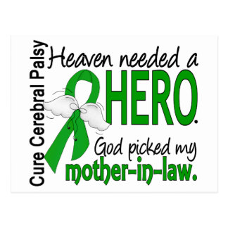 Heaven Needed a Hero CP Mother-In-Law Postcard