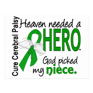 Heaven Needed a Hero CP Niece Postcard