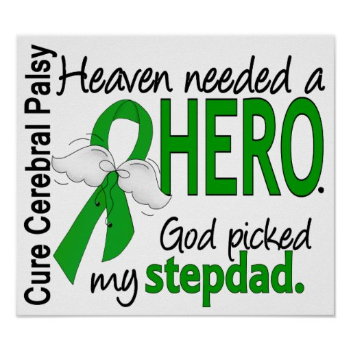 Heaven Needed a Hero CP Stepdad Posters