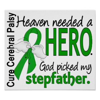 Heaven Needed a Hero CP Stepfather Print