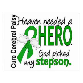 Heaven Needed a Hero CP Stepson Postcard
