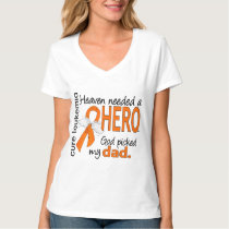 Heaven Needed a Hero Dad Leukemia T-Shirt