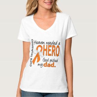 Heaven Needed a Hero Dad Leukemia T Shirt