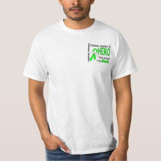 Heaven Needed a Hero Dad Lymphoma T Shirts