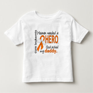 Heaven Needed a Hero Daddy Leukemia Toddler T-shirt