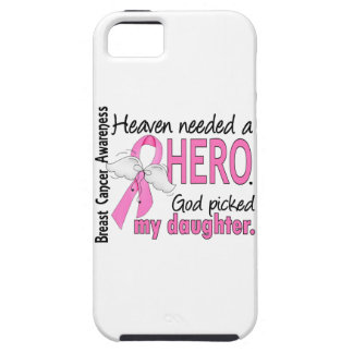 Heaven Needed A Hero Daughter Breast Cancer iPhone SE/5/5s Case