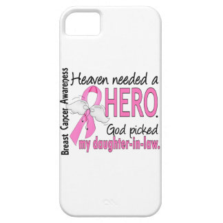 Heaven Needed A Hero Daughter-In-Law Breast Cancer iPhone SE/5/5s Case