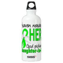 Heaven Needed a Hero Daughter-In-Law Lymphoma Aluminum Water Bottle