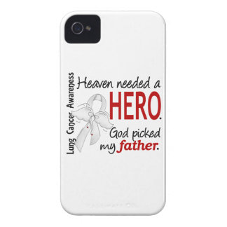 Heaven Needed A Hero Father Lung Cancer iPhone 4 Cases