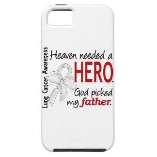 Heaven Needed A Hero Father Lung Cancer iPhone SE/5/5s Case