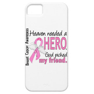 Heaven Needed A Hero Friend Breast Cancer iPhone SE/5/5s Case