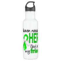 Heaven Needed a Hero Friend Lymphoma Water Bottle