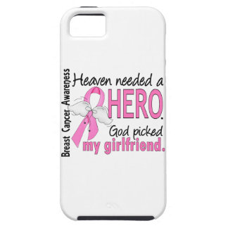 Heaven Needed A Hero Girlfriend Breast Cancer iPhone SE/5/5s Case