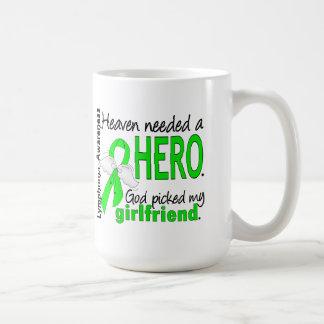 Heaven Needed a Hero Girlfriend Lymphoma Coffee Mugs