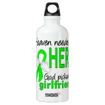 Heaven Needed a Hero Girlfriend Lymphoma Water Bottle
