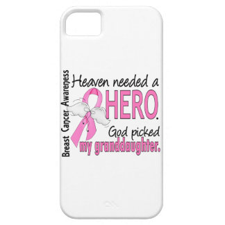 Heaven Needed A Hero Granddaughter Breast Cancer iPhone SE/5/5s Case